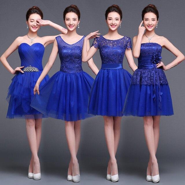 6ad9765370 Vestidos de graduacion de sexto azul – Vestido azul