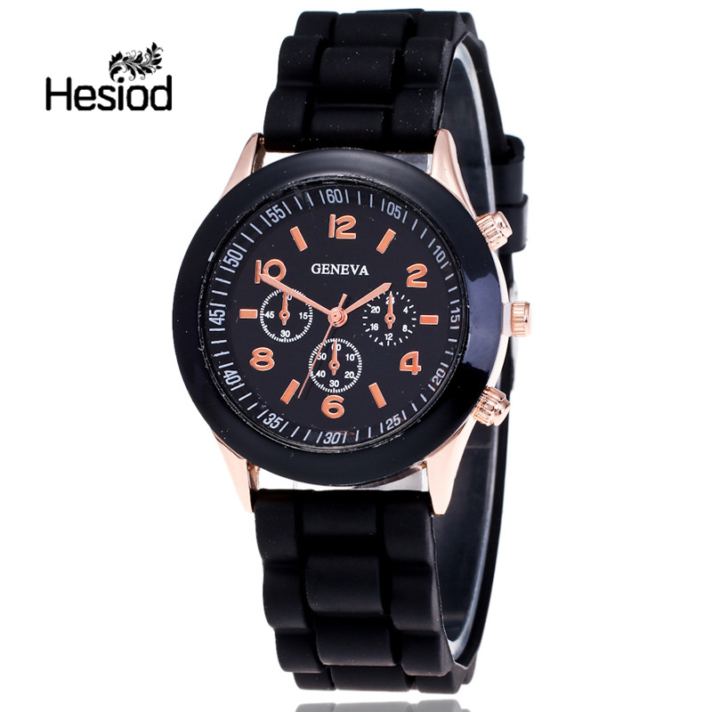 Hesiod Children Watch Fashion Casual Watches Electronic Wristwatches Jelly Kids Clock Boys Hours Girls Students Wristwatch