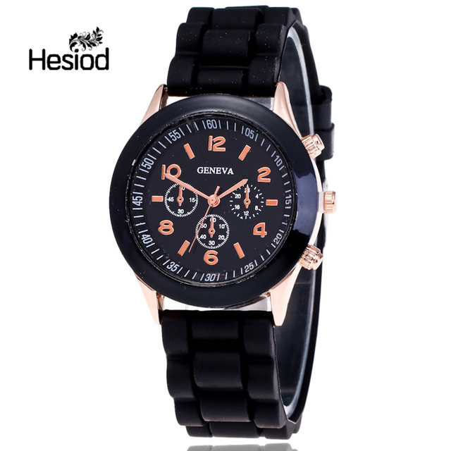 Hesiod Children Watch Fashion Casual Watches Electronic Wristwatches Jelly Kids
