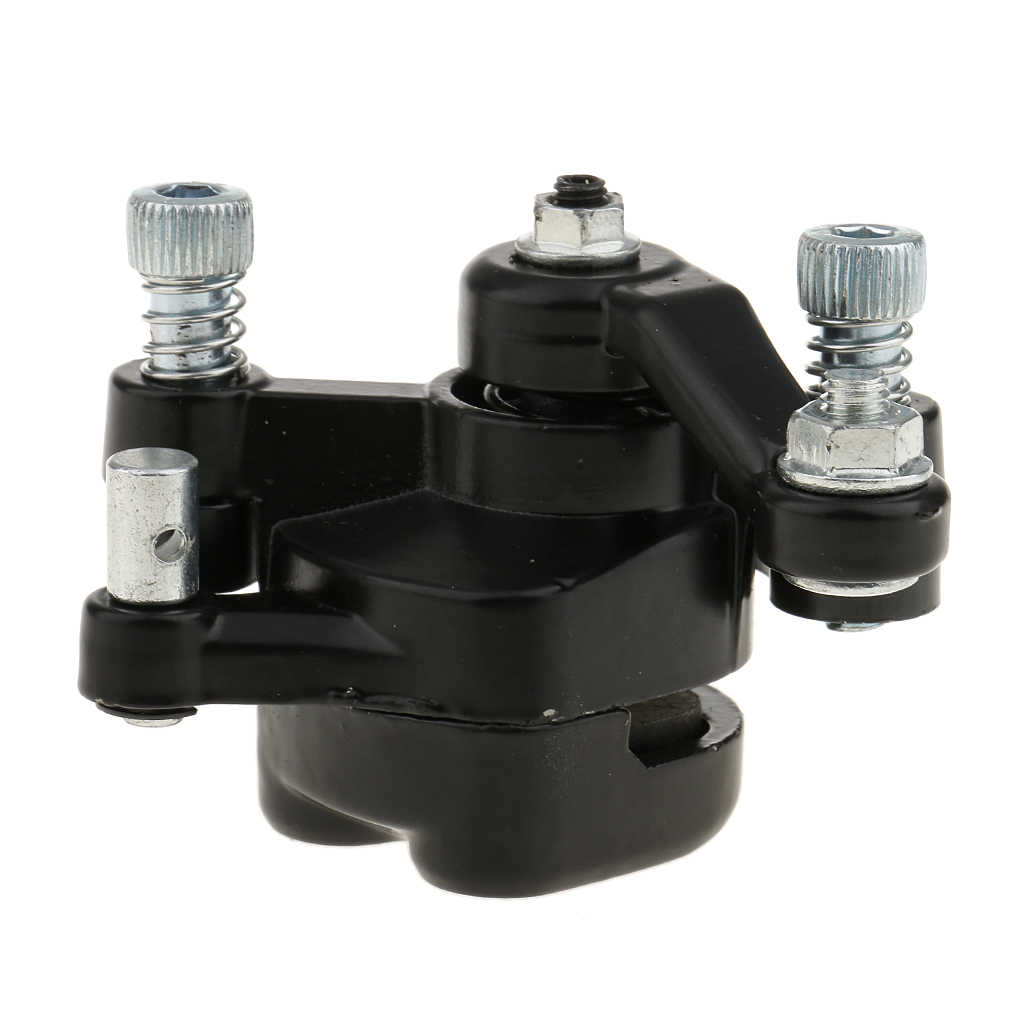 1 pièces ATV frein à disque arrière étrier plaquettes pour 47cc 49cc Mini Scooter poche vélo fusée ATV Quad Etc 2019 nouveaux accessoires vtt