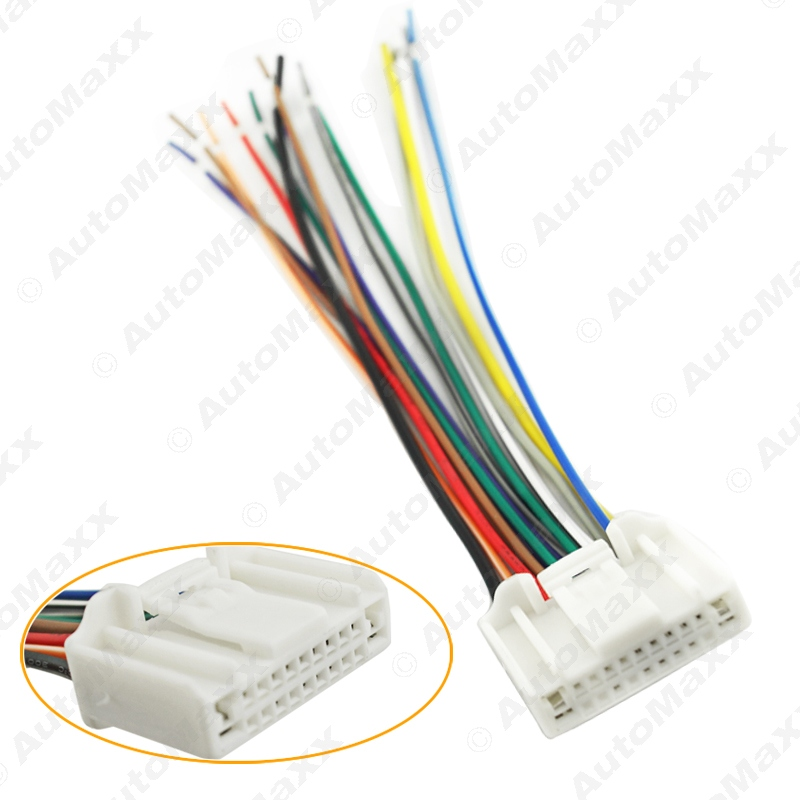nissan wire harness promotion shop for promotional nissan wire 10pcs car audio stereo wiring harness adapter plug for nissan infiniti oem factory radio cd j 3995