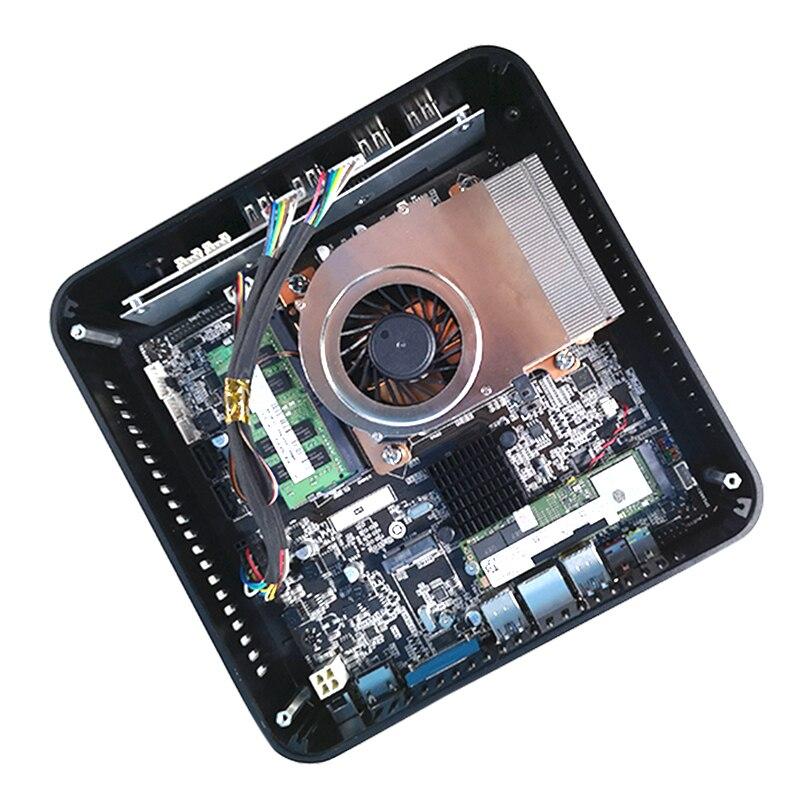 MSECORE i7 8700 Gaming Mini PC Windows 10 Desktop Computer game pc linux intel Nettop barebone system HTPC UHD630 Graphics WiFi