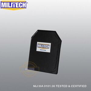 Image 3 - MILITECH 10x12 STC & RC Cut NIJ 0101.06 IIIA 3A NIJ 0115.00 Livello 2 Stab Resistente Piatto A Prova di Proiettile aramide Morbida Balistico Pannello