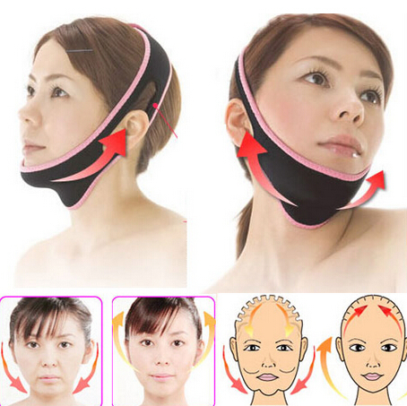 Face Lift Up Belt Sleeping Face-Lift Mask Massage Slimming Face Shaper Relaxation,Facial Slimming Mask Face-Lift Bandage red color silicone face slim lift up belt facial slimming massage band mask personal beauty gift