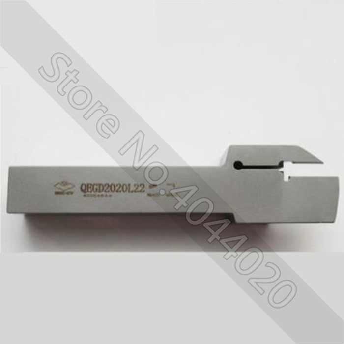 1Pcs QEGD2020L22 ZCC.CT Tungsten Carbide Cutting Tool Plate Tools Holder For Cnc Lathe Cutter Cutting Turning Tool