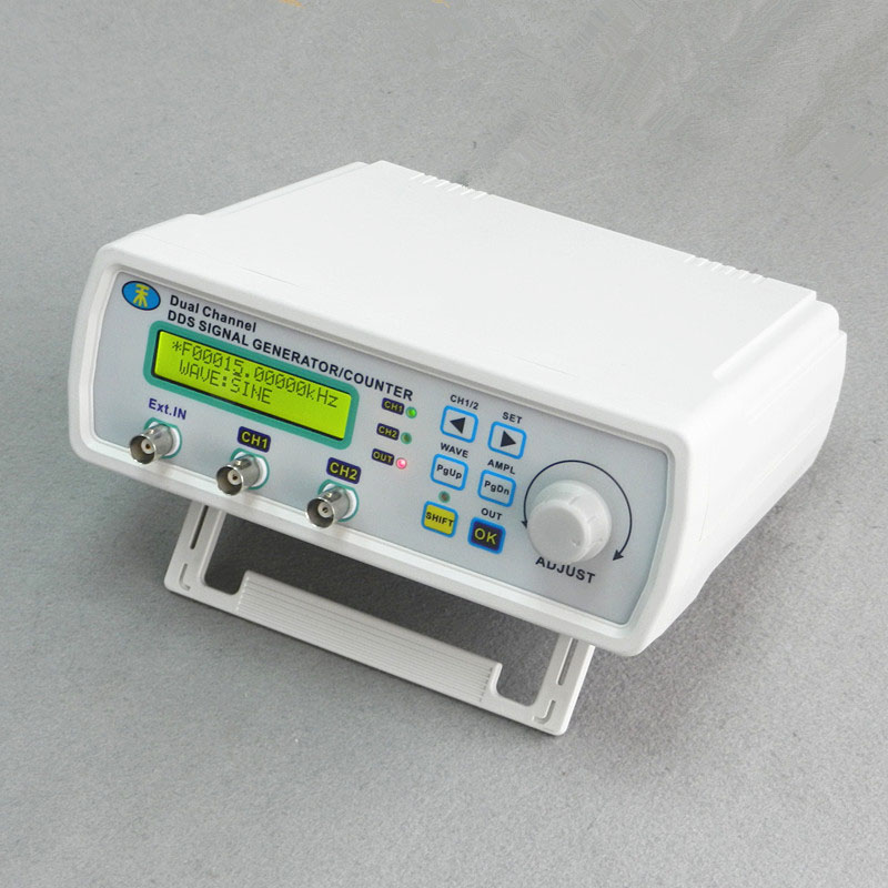 MHS-5200P--06M Dual-channel DDS Signal Generator Arbitrary waveform generator Function signal generator 6MHz 200MSa/s mhs 5200p digital dual channel dds signal generator arbitrary waveform function signal generator with backlight 50% off