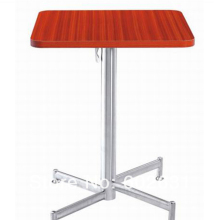 Коктейль журнальный квадратный складной столик из нержавеющей стали, основание из нержавеющей стали, МДФ, топ, kd упаковка 1 шт./коробка, быстрая