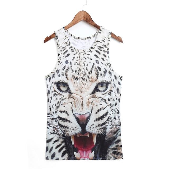 Animal print 3d Vest 2019