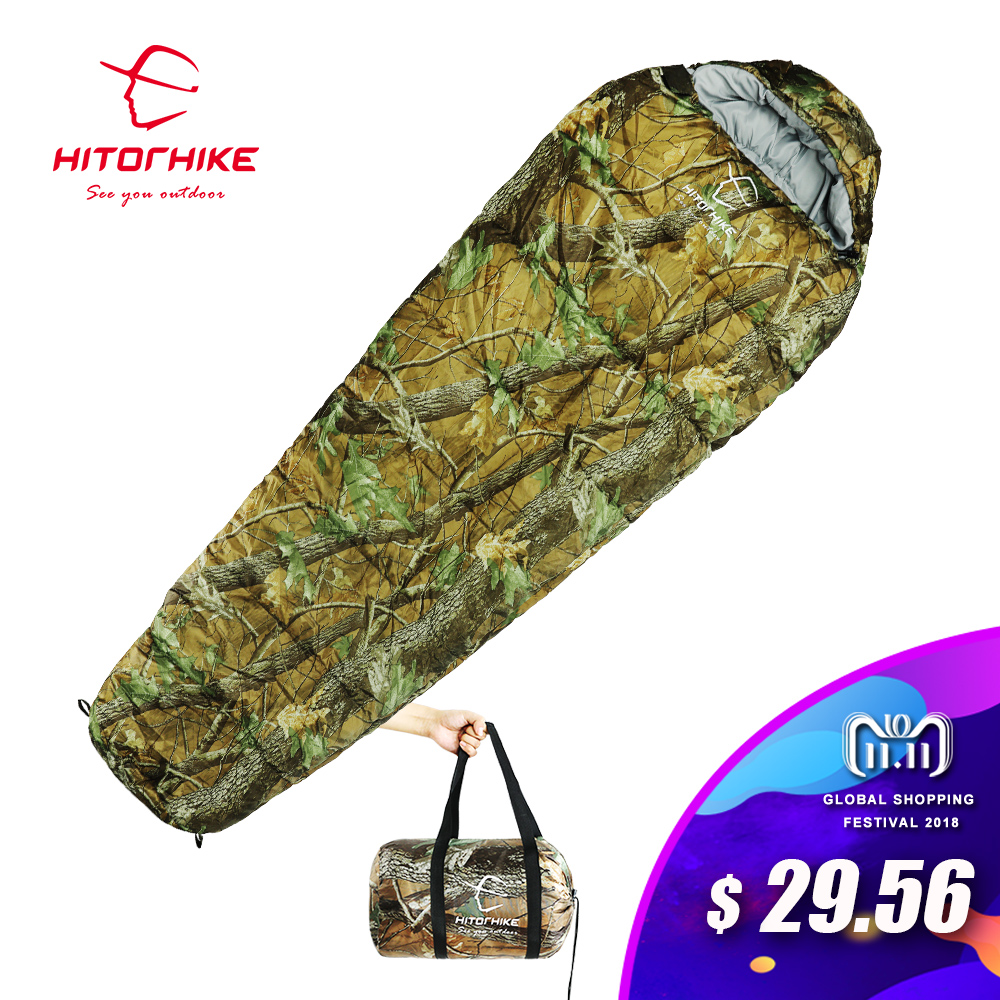 Outdoor Sleeping Bag Mummy Ultra Light Adult Portable Camping Hiking Bags Sleeping Bags 3 seasons 1.5kg lazy bag New arrival creeper 2017 new outdoor sleeping bags cotton warm lazy bags winter tent sleeping bags camping travel adult convinient sleep