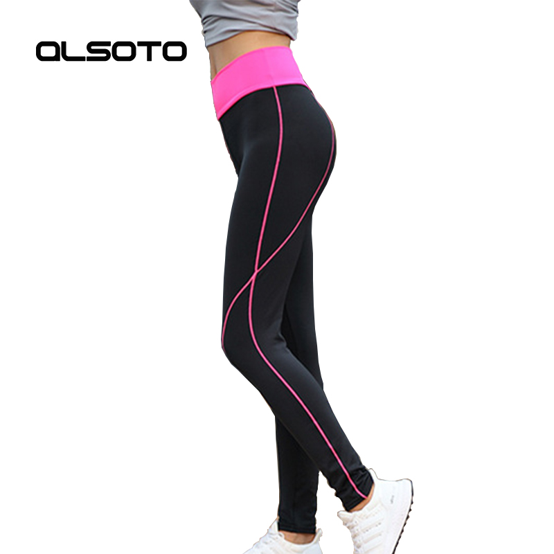 Sports pants for women Fitness running summer stretch thin yoga tights Solid color High waist sportswearWas thin Joggers causal high waist asymmetric solid color shorts for women