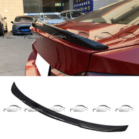 Wings Spoiler for BMW F82 M4 CS Style Carbon Fiber Rear Trunk Lip Car Styling