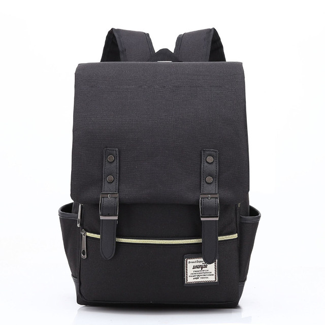 Laptop Backpack Women Canvas Bags Oxford Travel Leisure Backpacks Casual Bag School Bags For Teenager 3