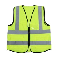 Urijk Gardening Work Pocket Vest Clothing Cycling Motorcycle Night Glow Visible Reflective Rider Safety Security Dropshipping