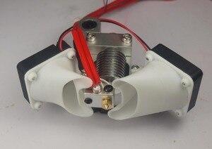 Image 4 - Ultimaker Original V6 hot end mount full assembly kit for DIY 3D printer J head metal mount holder 3950 thermistor