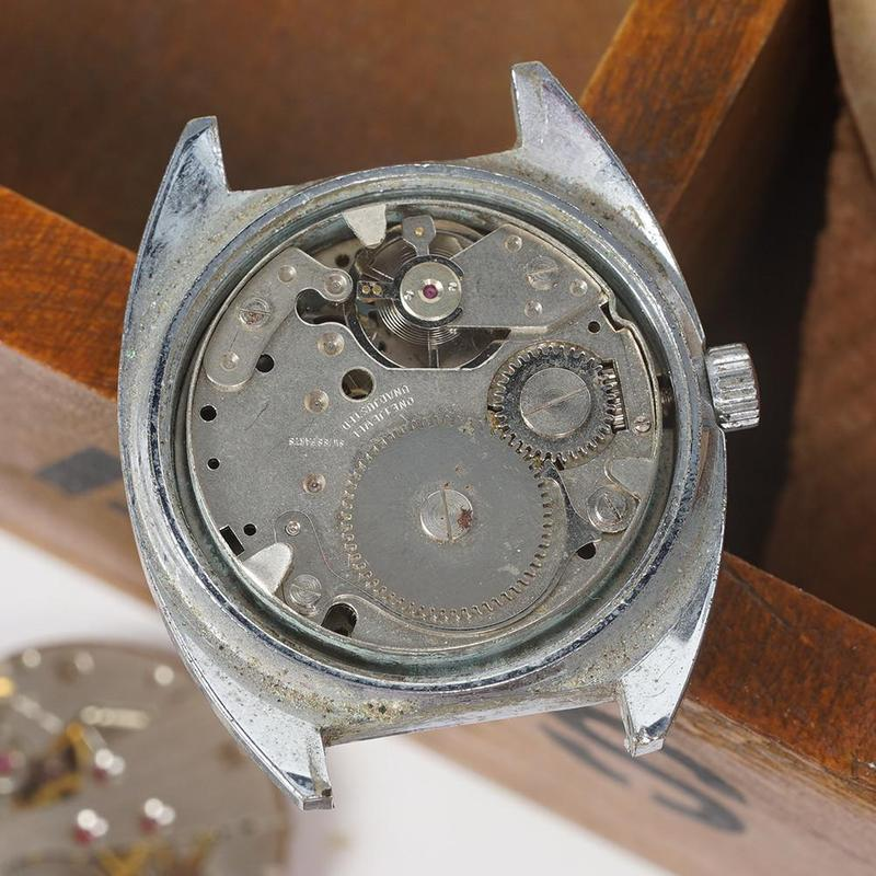 Scrapped Watch Mechanical Movement For DIY Watch Assembly Exercises Watch Clock Part Accessory