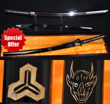 Japanese Kill Bill Kendo Sword Samurai Katana High Carbon 1095 Steel Clay Tempered Katanas Real Hamon T10 Blade Swods Very Sharp