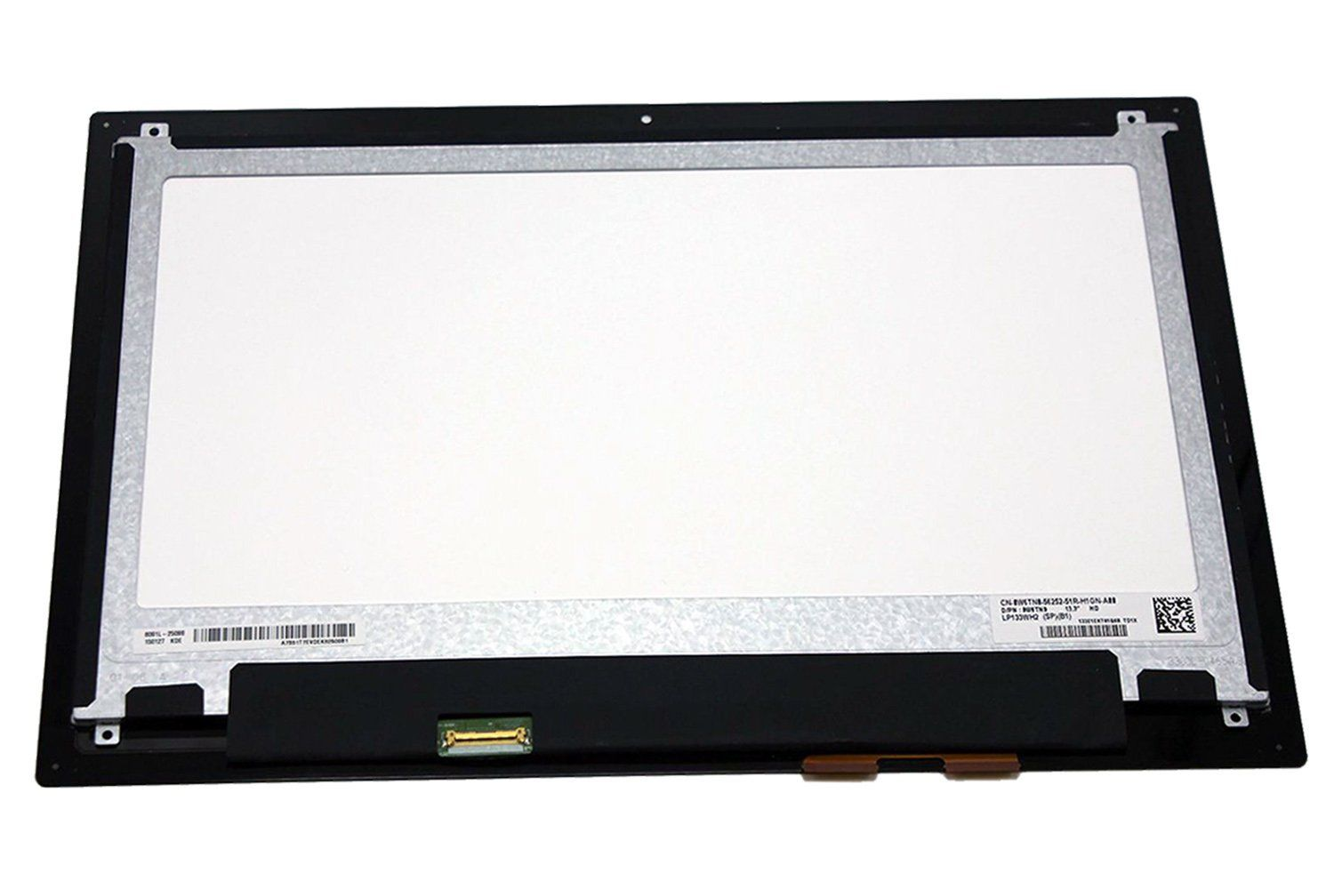 New For DELL Inspiron 13 7347 7348 HD 13.3'' Touch LCD Screen Panel LP133WH2-SPB1 0W6TN0 13 3 lcd screen for lg lp133wh2 spb1 lp133wh2 sp b1 laptop spb1 13 7347 touch assembly