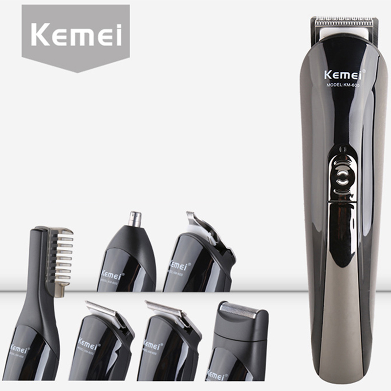 Multifunctional Hair Trimmer household Hair Clipper for Men Electric Shaver Beard Trimmer Hair Cutting Machine for all KM-600