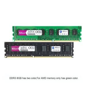Image 4 - Kllisre DDR3 8GB ram 1600 de 1333 no ecc PC de escritorio memoria 240 pines sistema alta Compatible