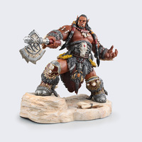 Game WOW Frostwolf Clan Durotan 1/6 Scale Painted 22cm Action Figure PVC ACGN Model Colletible Toys For Adult Gifts Dolls KB0667