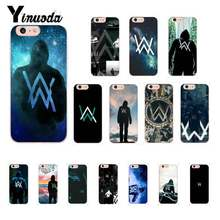 Yinuoda Alan Walker DJ Ontbrekende Telefoon Case Voor iphone 11 Pro Max 6S 6plus 7 8plus X Xs MAX 5 5S XR(China)