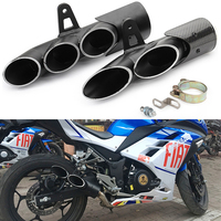 Motorcycle muffler exhaust pipe escapamento de moto modified toce exhaust for suzuki gsr600 cb500x r25 cb400 nc750x cb650f er6n