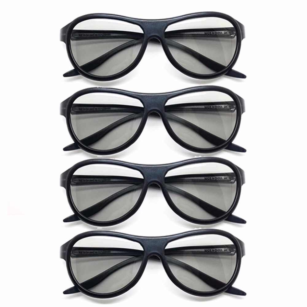 bd672a09ba 4pcs lot Replacement AG-F310 3D Glasses Polarized Passive Glasses For LG  TCL Samsung