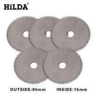 HILDA Mini Circular Saw Blade 80 T for Wood Cutting Power Tool Accessories circular saw blade mini saw inside 15mm 5pcs