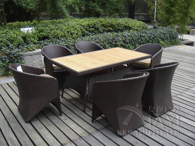 Dining Set Tuin : Stks rotan tuin eetkamer sets rieten tuinmeubilair dining sets