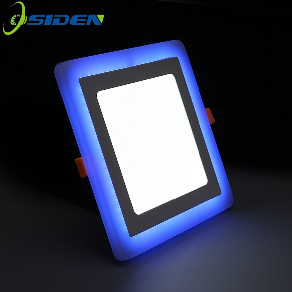 OSIDEN LED LED svetilka SMD2835 6W9W 18W 24W dvobarvna dvojna luč s - LED osvetlitev