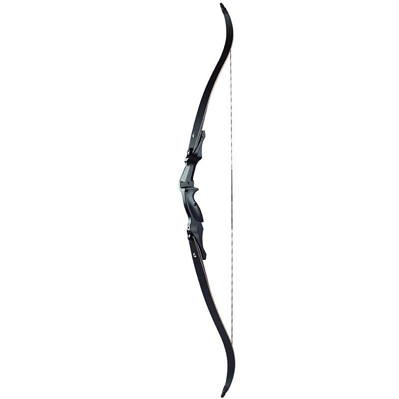 Стрельба из лука 30 50 кг Американский Охота изогнутый лук 60 дюйм(ов) IBO 190FPS Алюминий стояк традиционный лук