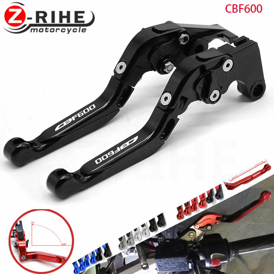 For Honda CBF 600 CBF600 SA 2010-2013 CNC Motorcycle Foldable Extending Brake Clutch Levers Folding Extendable Lever for ktm rc390 rc200 rc125 125 duke high quality motorcycle cnc foldable extending brake clutch levers folding extendable lever