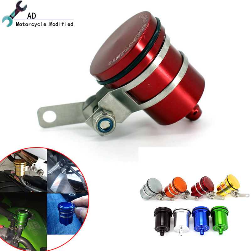 Motor bike Brake Fluid Cup Reservoir Clutch Tank Oil Fluid For Yamaha Ktm Kawasaki Suzuki Benelli BN 302 Motorcycle Accessories aftermarket free shipping motor parts for motorcycle 1989 2007 suzuki katana 600 750 billet oil brake fluid reservoir cap chrome