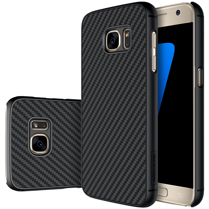 Nillkin For samsung galaxy s7 Synthetic fiber Back Cover Case For samsung s7 Military quality With Retail box 5.1 inch