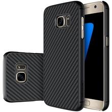 NILLKIN для Samsung Galaxy S7 синтетические волокна назад чехол для Samsung S7 Militar качества с розничной коробке 5.1 дюймов