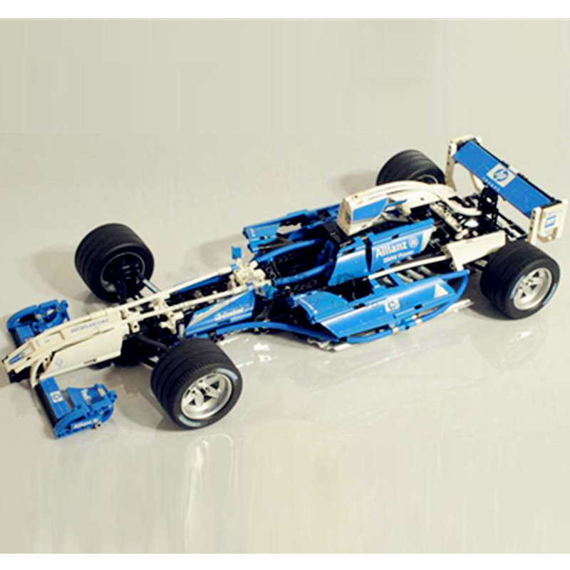Compatible with Lego Technic Series 8461 Lepin 20022 1586pcs Williams F1 Team Racer building blocks toys for children lepin 02025 city the high speed racer transporter 60151 building blocks policeman toys for children compatible with lego