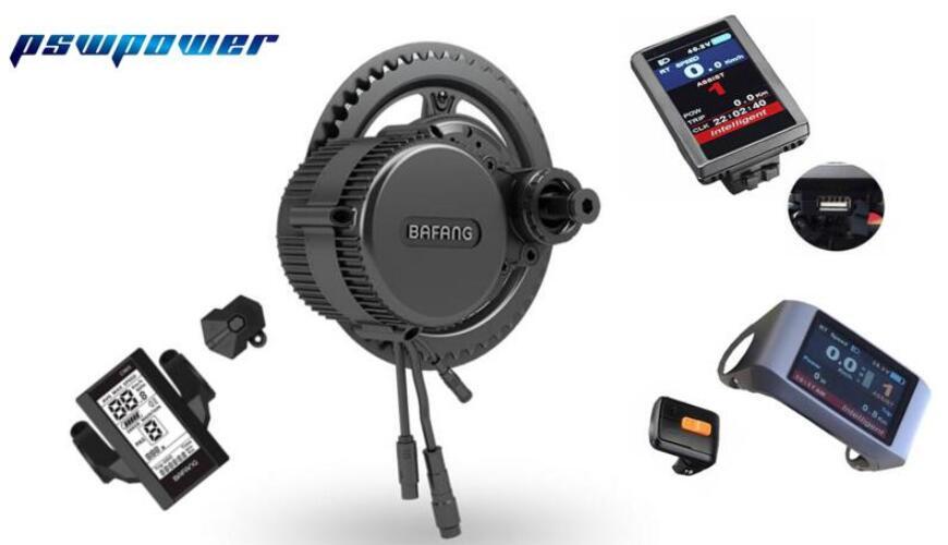 Бесплатная доставка 48v750w Бафанг/bbs02b 8fun середине кривошипно-шатунный механизм двигателя комплекты apt жк-дисплей мотор-редуктор комплект электро-велосипед ebike комплекты