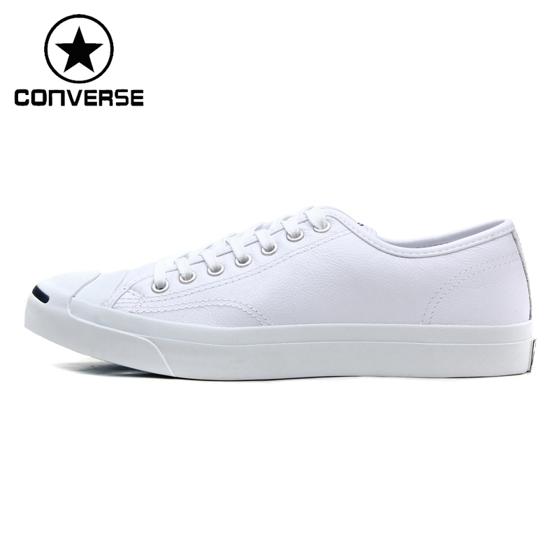 Original New Arrival  Converse Classic Unisex Leather Skateboarding Shoes Low top Sneaksers