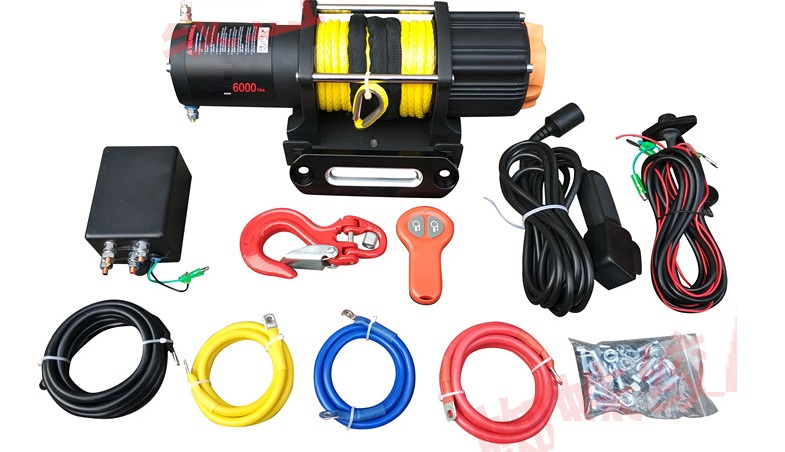 Back To Search Resultstools Hard-Working 6000lb 12v Electric Winch With Wireless Remote Control Car Truck Auto Barge Trailer Hand Tool Puller With Flexible Rope Chills And Pains