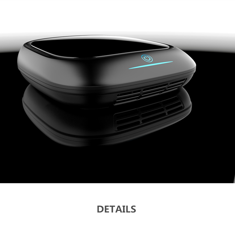 Free shipping easy use car air purifier with humidifier negative ion car air purifier