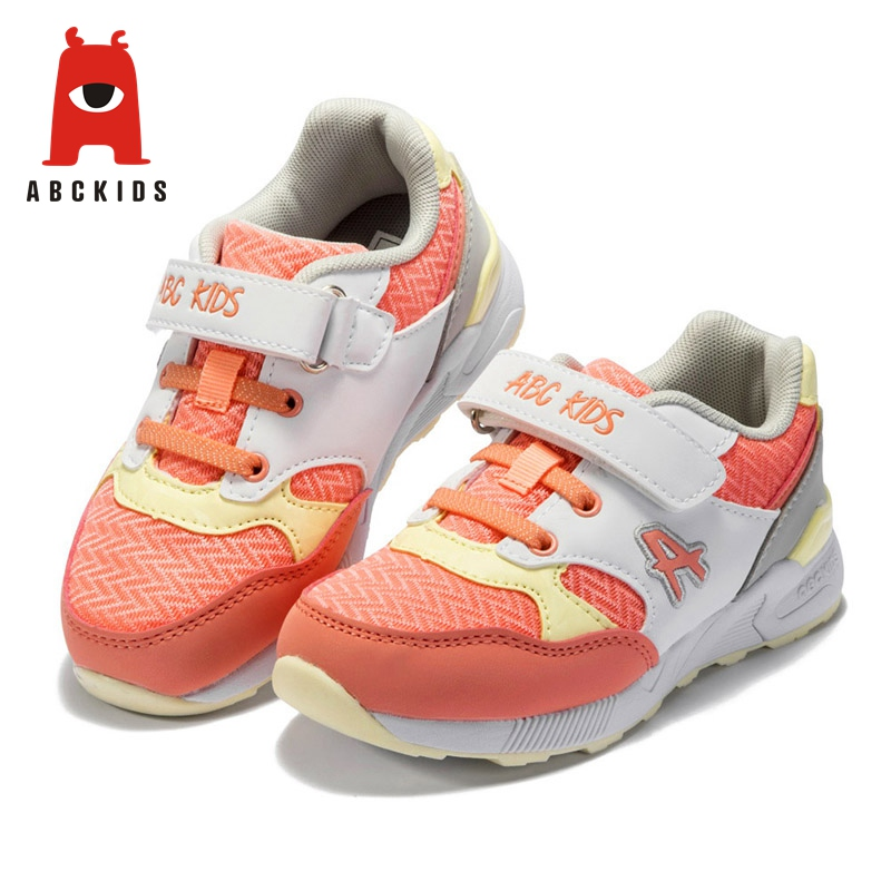 ABC KIDS Fashion Baby Kids Girls Casual Shoes Children Breathable Sports Running Trainers Shoes