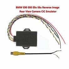 Dla bmw cic nowy odwrotnej obrazu Emulator/widok z tyłu kamery aktywator do E90 E60 E9X E6X CIC z PDC w Kable i złącza do akumulatorów od Samochody i motocykle na