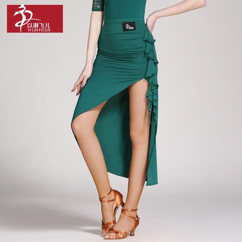 New Fashion Women Latin Dance Costume Adult Samba Rumba Tango Latin Dance Skirt