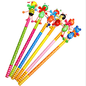 Image 3 - 48pcs/lot School Students Prize Children Cartoon Animal HB Wooden Pencil Christmas Birthday Promotion Gift