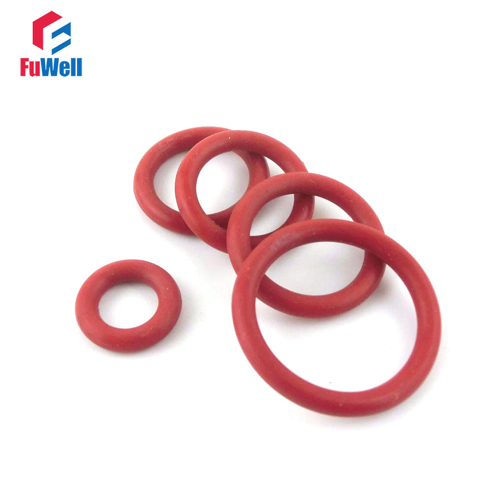 10pcs Heat Oil Resistant 2.65mm NBR Nitrile O-Ring Rubber Sealing Ring 50-195mm