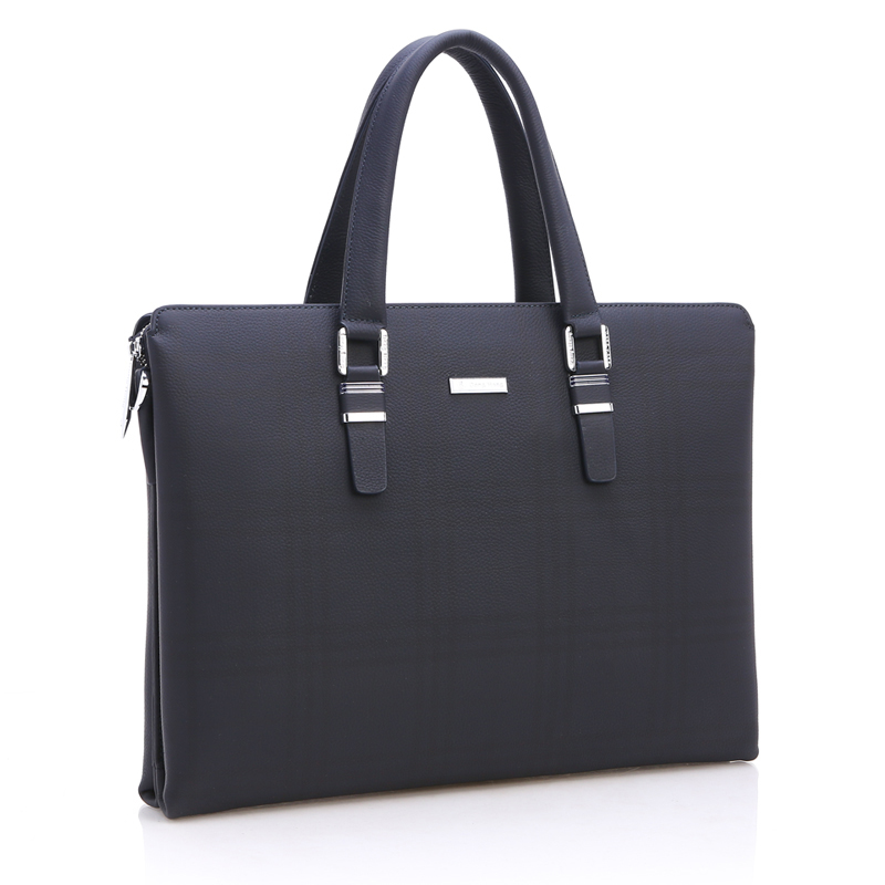 ФОТО DongHong Men Leather Briefcase Bags Business Laptop Tote Bag Men's Messenger Travel Bags Men's Crossbody Shoulder Bag