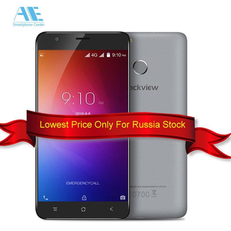 """Цена за Оригинал Blackview E7 Смартфон 5.5 """"MTK6737 Quad Core Android 6.0 4 Г LTE 1 ГБ ОПЕРАТИВНОЙ ПАМЯТИ Отпечатков Пальцев 16 ГБ ROM 8MP Мобильного Телефона"""
