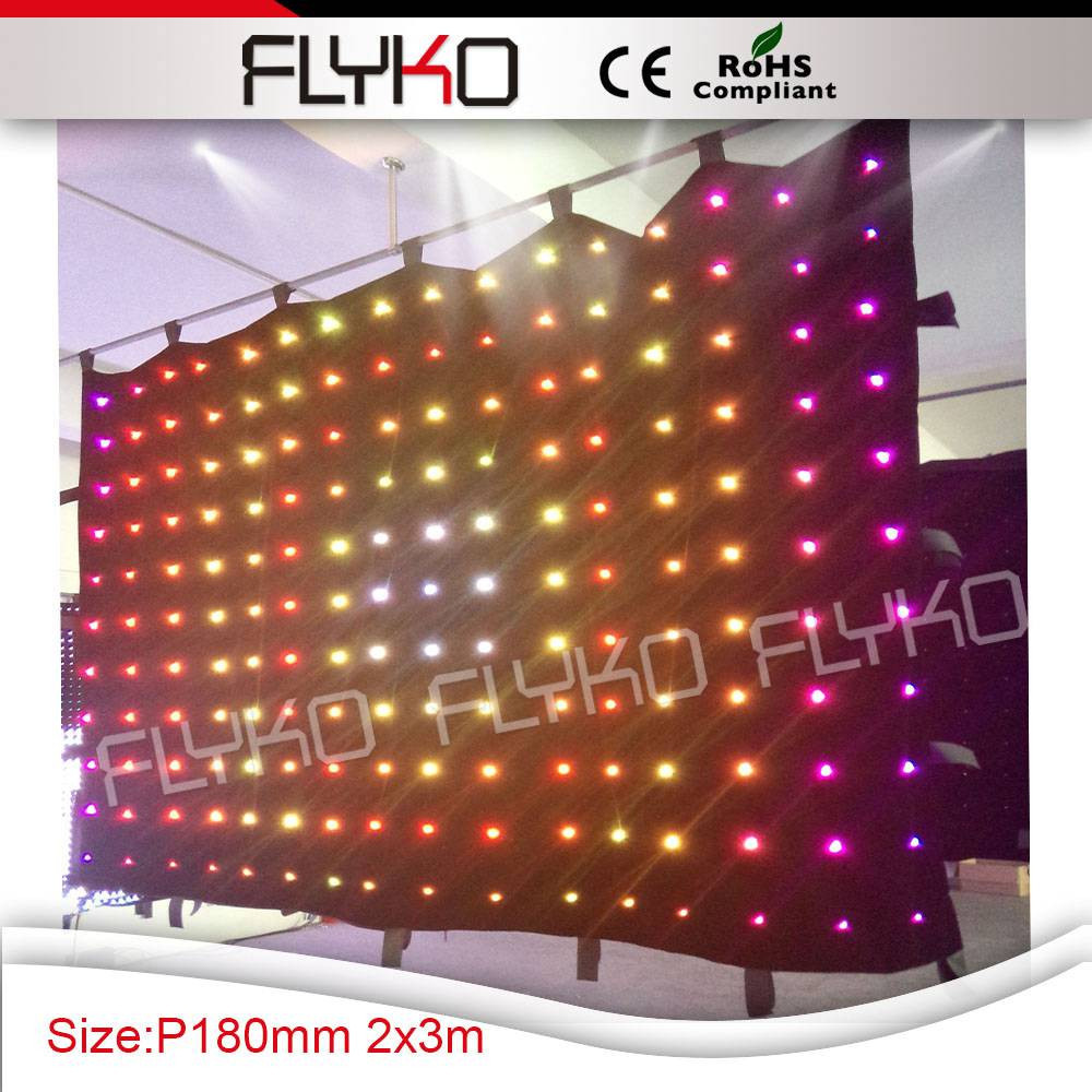 flyko p18 led video curtain 17