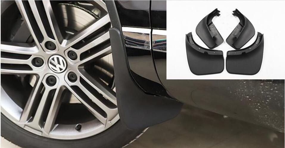 Car Front Rear Mudguards For 2011 2012 2013 2014 2015 <font><b>VW</b></font> Touareg <font><b>Mudflap</b></font> Accessories Fenders image