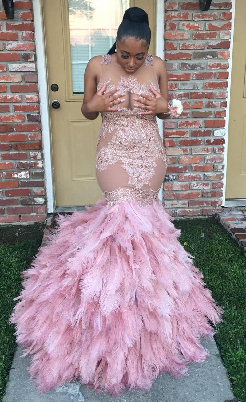 Robe de soirée largo atractivo prom dress 2017 con cuentas de color ...